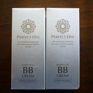 パーフェクトワン(PERFECT ONE)のパーフェクトワン 薬用ホワイトニング BBクリーム ピンクナチュラル 25g×2(BBクリーム)