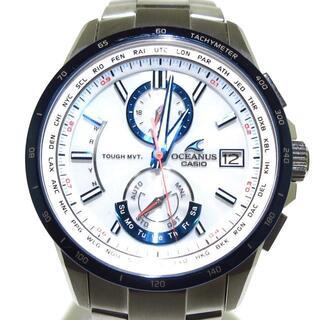 カシオ(CASIO)のカシオ 腕時計 オシアナス OCW-T2500 電波(その他)