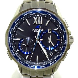 カシオ(CASIO)のカシオ 腕時計美品  オシアナスマンタ(その他)