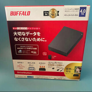 BUFFALO ハードディスク 4TB