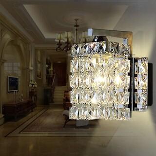2個セット クリスタルガラスのシャンデリア(天井照明)