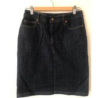 ムジルシリョウヒン(MUJI (無印良品))の無印良品 デニム膝丈スカート(ひざ丈スカート)