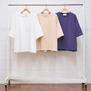 アンユーズド(UNUSED)のUNUSED 21SS Short Sleeve T-Shirt 2 パープル(Tシャツ/カットソー(七分/長袖))
