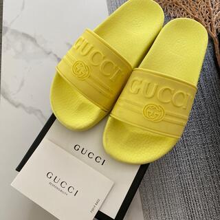 グッチ(Gucci)のgucci  キッズ サンダル ラバー シャワーサンダル 正規品(サンダル)