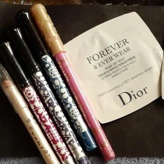 アナスイ(ANNA SUI)のアナスイ カラーアイライナー他5本! Diorメークアップベースおまけ(コフレ/メイクアップセット)
