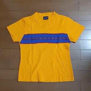 エレッセ(ellesse)のellesse エレッセ テニスウェア オレンジ色 M(ウェア)