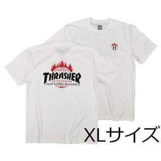 スラッシャー(THRASHER)のスラッシャーTシャツ XL 半袖T スケードボード アウトドア ボード サーフ(Tシャツ/カットソー(半袖/袖なし))