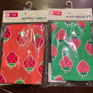 アンパサンド(ampersand)のアンパサンド☆新品女の子パンツ.ショーツ 2点 110(下着)