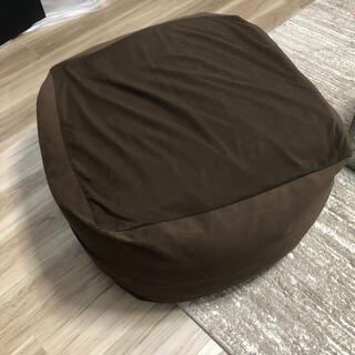 ムジルシリョウヒン(MUJI (無印良品))の無印良品 体にフィットするソファ MUJI ブラウン 本体・カバーセット(一人掛けソファ)