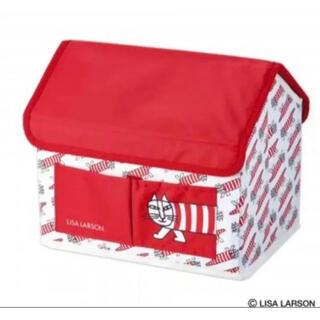 Lisa Larson -  リサ・ラーソン   マイキーのハウス型 収納BOX