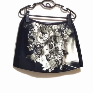 PRADA - プラダ ミニスカート サイズ40 M - 花柄