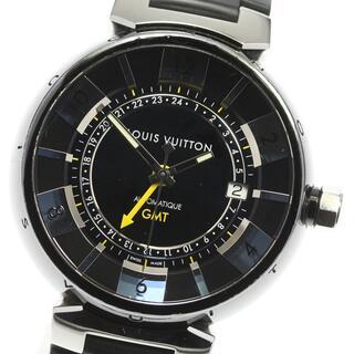 ルイヴィトン(LOUIS VUITTON)のルイ・ヴィトン タンブール インブラック Q113K メンズ 【中古】(腕時計(アナログ))