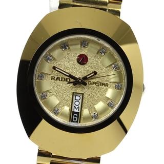RADO - ラドー ダイアスター デイデイト 648.0413.3 メンズ 【中古】