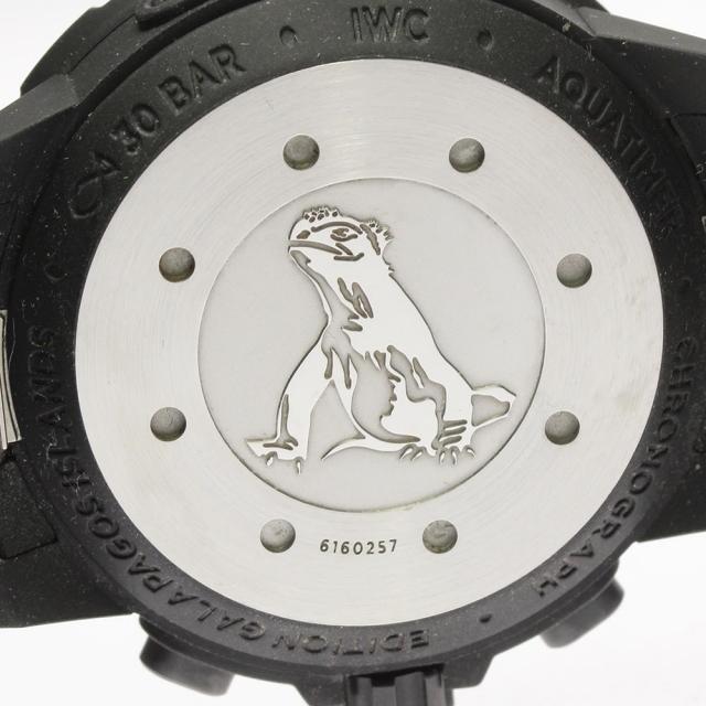 IWC(インターナショナルウォッチカンパニー)の☆美品 IWC アクアタイマー ガラパゴス・アイランド メンズ 【中古】 メンズの時計(腕時計(アナログ))の商品写真