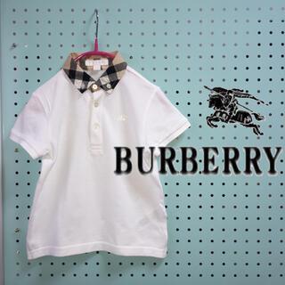 BURBERRY - BURBERRY  バーバリー チルドレン ポロシャツ