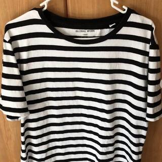 グローバルワーク(GLOBAL WORK)のボーダーTシャツ(Tシャツ(半袖/袖なし))