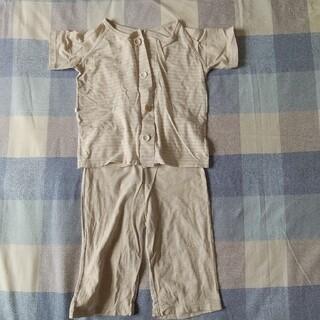 ムジルシリョウヒン(MUJI (無印良品))の無印良品 キッズパジャマ 半袖 100サイズ(パジャマ)