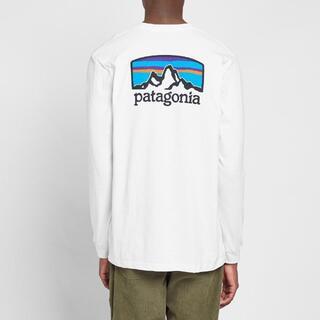 パタゴニア(patagonia)のPatagonia ロンT Long Sleeve Fits Roy ホワイトL(Tシャツ/カットソー(七分/長袖))