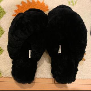 エミュー(EMU)の【EMU Australia】 サンダル 美品 24cm ブラック (サンダル)