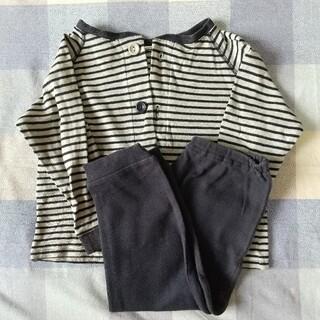 ムジルシリョウヒン(MUJI (無印良品))の無印良品 キッズパジャマ 長袖 綿100% (パジャマ)