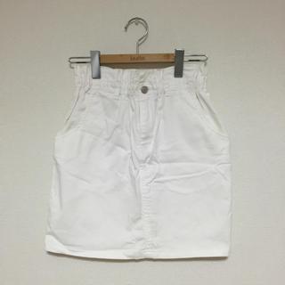 ワンアフターアナザーナイスクラップ(one after another NICE CLAUP)の♡ ホワイトデニムスカート ♡(ミニスカート)