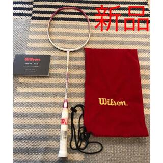 wilson - ❣️新品未使用 バドミントンラケット Wilson ウィルソン