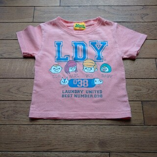 LAUNDRY - ランドリー Tシャツ オレンジ SSサイズ