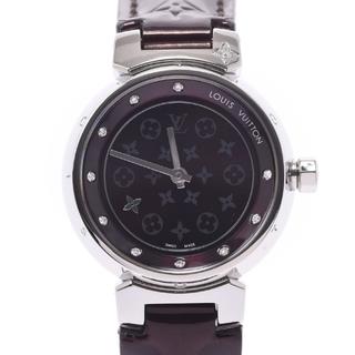 ルイヴィトン(LOUIS VUITTON)のルイヴィトン  タンブール ディスクディアモン 10Pダイヤ 腕時計(腕時計)