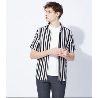 アバハウス(ABAHOUSE)の新品 Recency of Mine 半袖シャツ ダークブラウン Mサイズ(Tシャツ/カットソー(半袖/袖なし))