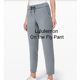 ルルレモン(lululemon)のLululemon On the Fly 7/8 Pant Woven(ヨガ)