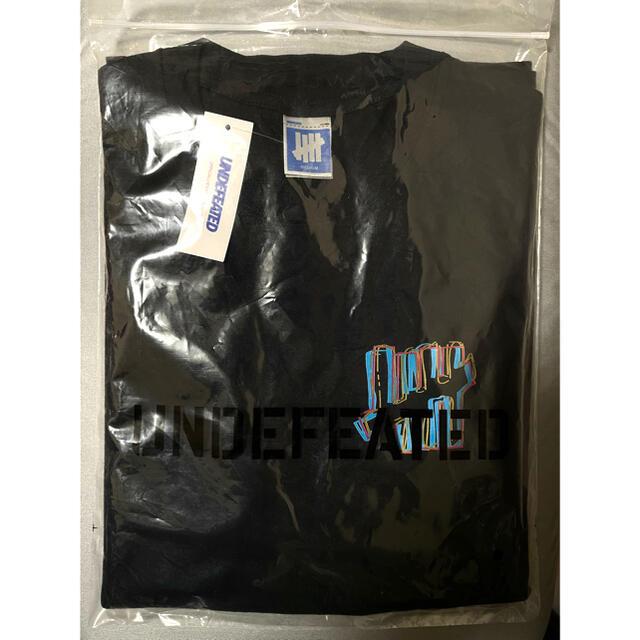 UNDEFEATED(アンディフィーテッド)のundefeated Tシャツ Lブラック メンズのトップス(Tシャツ/カットソー(半袖/袖なし))の商品写真