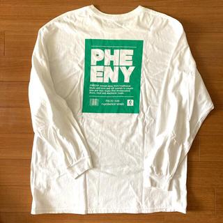 フィーニー(PHEENY)のPHEENY×BY別注パックT サイズXL 付属キーホルダー&ミラーのセット(カットソー(長袖/七分))