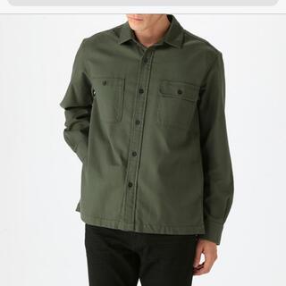 ムジルシリョウヒン(MUJI (無印良品))の無印 ミリタリー シャツ UNIQLO グローバルワーク チャオパ S(シャツ)
