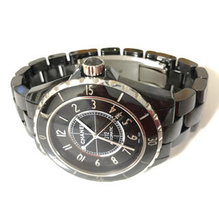 シャネル(CHANEL)の【正規品・限定品】シャネルJ12 H2980 黒セラミック42mm (腕時計(アナログ))