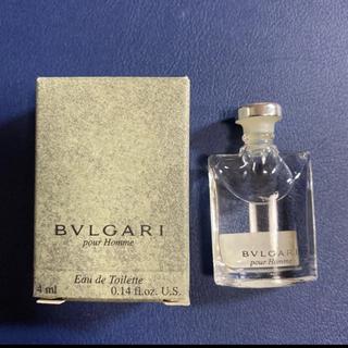 ブルガリ(BVLGARI)のブルガリ プールオム オードトワレ 4ml(香水(男性用))