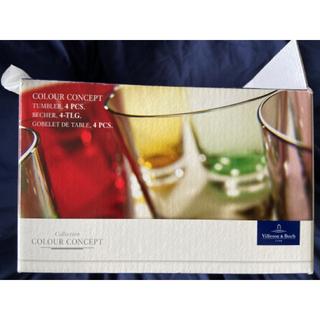 ビレロイアンドボッホ(ビレロイ&ボッホ)のビレロイ&ボッホ グラス 2色 各2個 計4個セット(グラス/カップ)