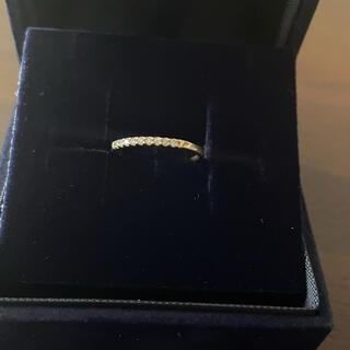 ジュエリーツツミ(JEWELRY TSUTSUMI)のジュエリーツツミk10ダイヤモンドピンキーリング5号(リング(指輪))