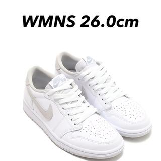 ナイキ(NIKE)の新品 26.0cm WMNS AIR JORDAN 1 LOW OG(スニーカー)
