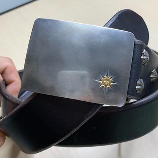 ゴローズ(goro's)のアポロコンチョカスタム4cm可動式角バックルベルト(ベルト)