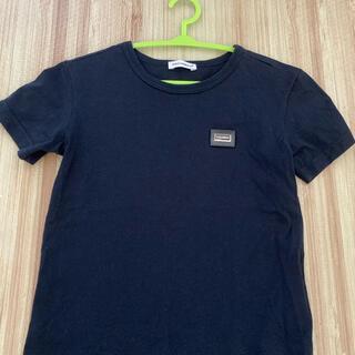 ドルチェアンドガッバーナ(DOLCE&GABBANA)のドルチェ&ガッバーナ 黒Tシャツ サイズ100(Tシャツ/カットソー)