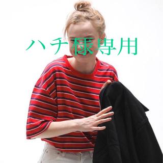 ヤエカ(YAECA)のLENO 20ss マルチボーダー サイズ1(Tシャツ(半袖/袖なし))