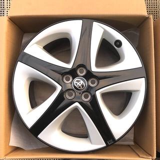 トヨタ(トヨタ)のプリウス  新車外し超美品 チタン調塗装樹脂加飾 純正ホイール17in 1本(ホイール)