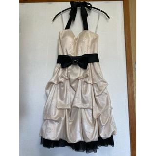 スコットクラブ(SCOT CLUB)のスコットクラブ ドレス ラインストーン ホワイト(ミディアムドレス)