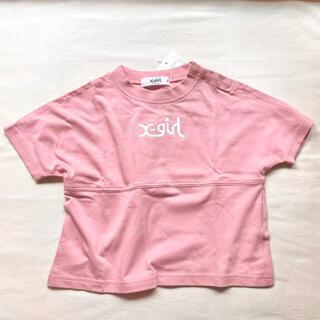 エックスガール(X-girl)のロゴTシャツ(Tシャツ/カットソー)