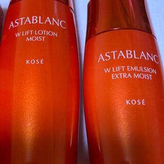 アスタブラン(ASTABLANC)のコーセー アスタブラン 化粧水 140ml  乳液 セット(化粧水/ローション)