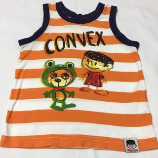 コンベックス(CONVEX)のコンベックス ボーダー タンクトップ 90(Tシャツ/カットソー)