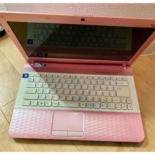 バイオ(VAIO)のSONY PCG-61A11N ジャンク品PC ピンク(ノートPC)