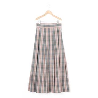 サイ(Scye)のScye 〈別注〉 マキシチェックスカート WOMEN(ロングスカート)