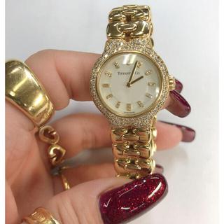 ティファニー(Tiffany & Co.)のティファニー  金無垢 時計(腕時計)