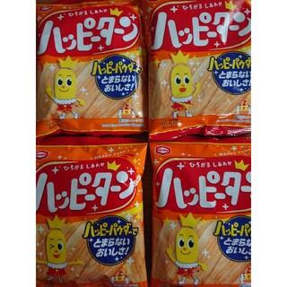カメダセイカ(亀田製菓)のハッピーターン  4袋(菓子/デザート)